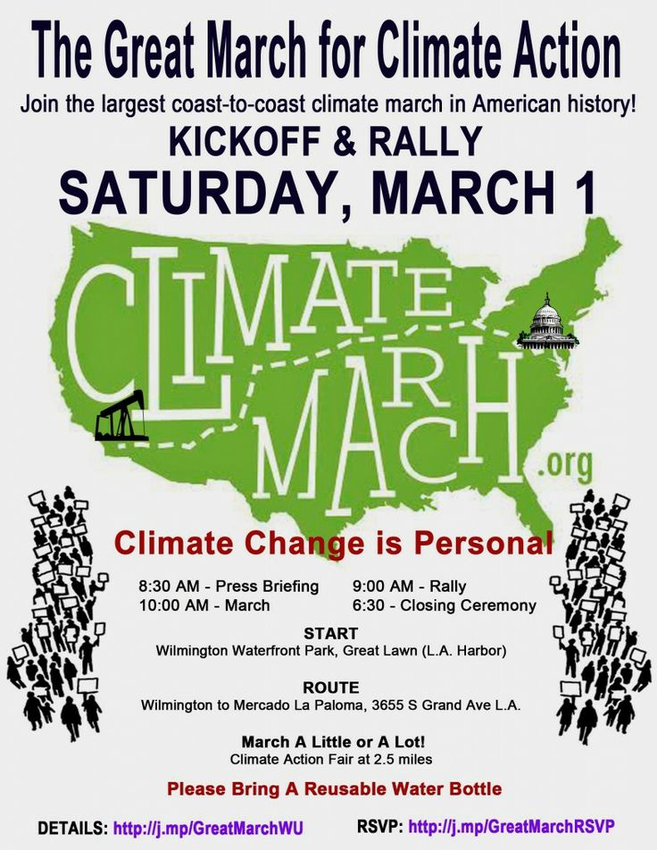 Great March for Climate Action - LA Launch