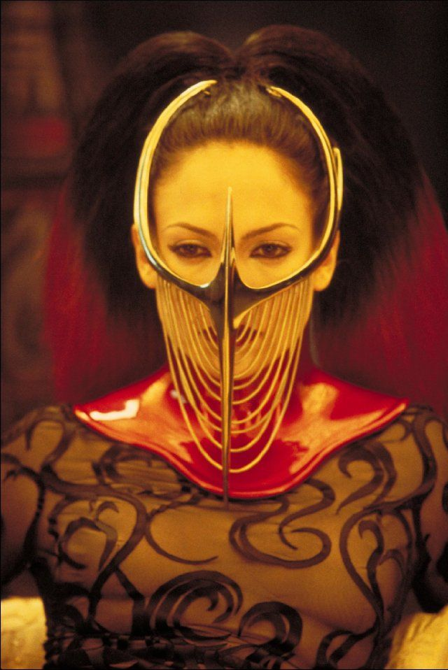 The Cell (2000) - Courtesy of IMDb. Costuming creation by the Eiko Ishioka (1938-2012).