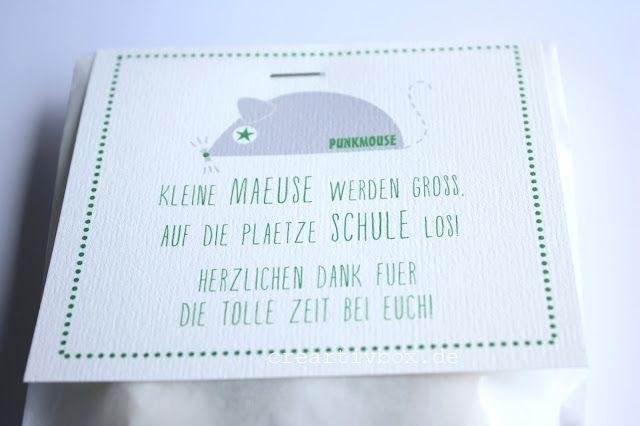 creartiv.box: Kleine Mäuse werden groß...