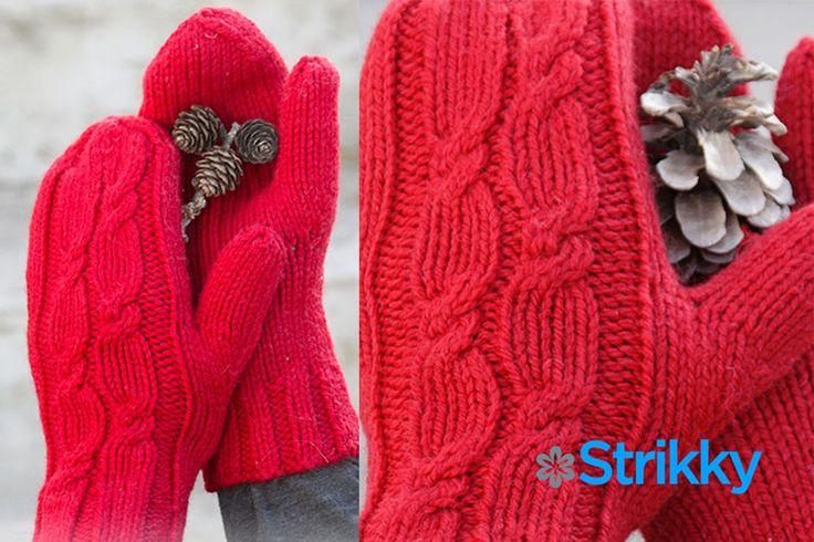 Варежки Holiday Touch с косами от Drops Design вязаные спицами / Зимой варежки – не роскошь, а необходимая вещь. Если Вы будете в варежках, морозу не удастся пощипать Ваши пальчики, в то время как перчатки для него – не преграда. Варежки[...]