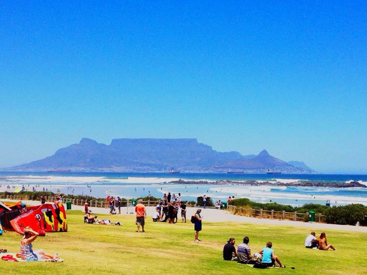 Table Mt from Melkbosstrand