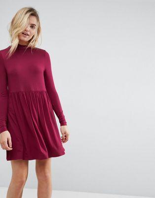 ASOS | ASOS Turtleneck Smock Dress