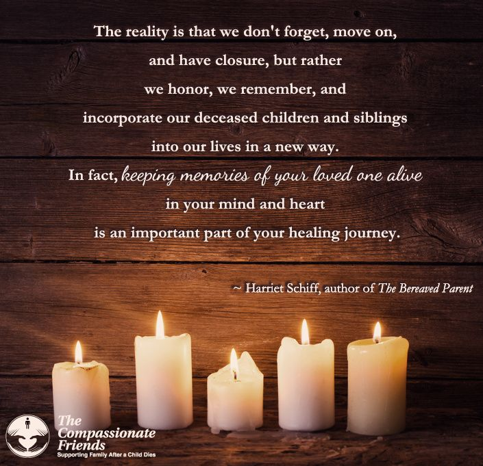 Grief Quotes, The reality is that we don't forget ... The Compassionate Friends | Providing Grief Support After the Death of a Child, Grandchild or Sibling