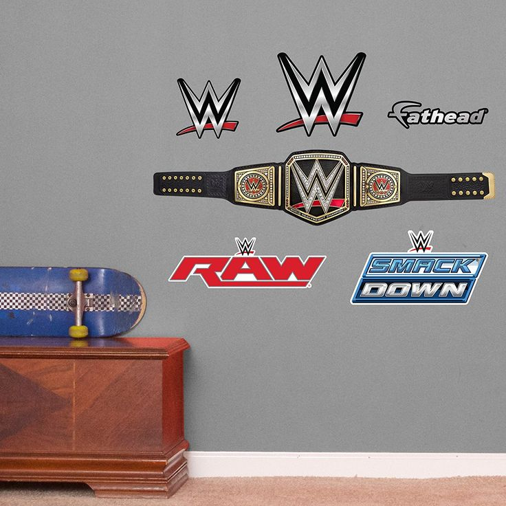 Fathead WWE Title Belt Junior Peel And Stick Wall Decals * You Can Get More  Details