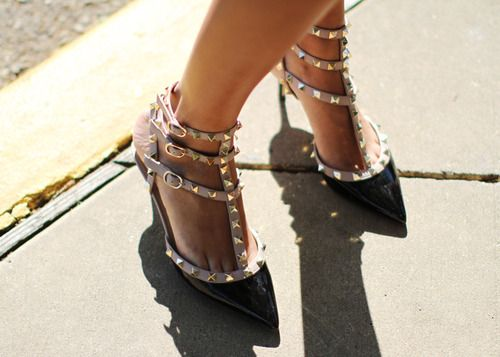 1000+ Images About Valentino Rockstud Pumps On Pinterest