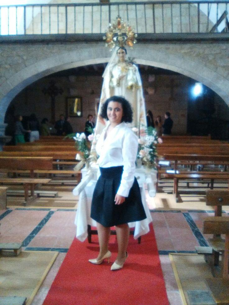 Virgen del Rocío, Bogajo Salamanca, con esto quiero demostrar la importancia de cuidar las tradiciones, y que vean la hermosura de las imágenes de las iglesias, de nuestras vírgenes y santos