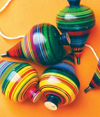 Trompos: Traditional Mexican Toy full of Color...