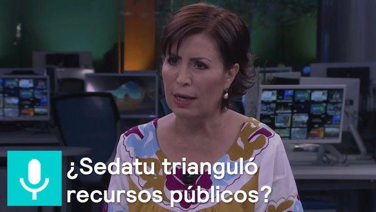 Rosario Robles responde al presunto desvío de recursos en Sedatu - Despi...