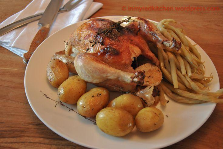 Gebraden kip uit de braadpan