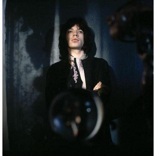 Mick Jagger in 'Performance', filmed 1968.