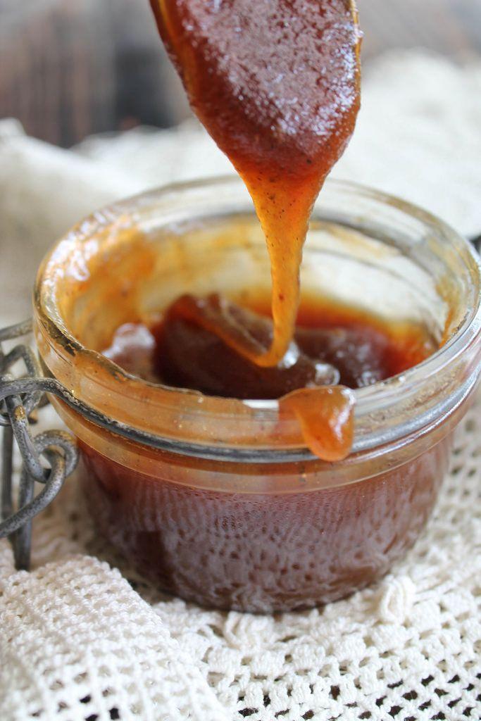 Sauce caramel a la crème de coco{vegan} - aime & mange