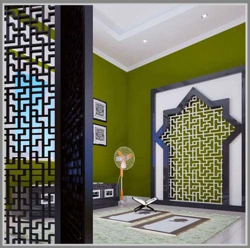 Desain Mushola Kecil Dalam Rumah