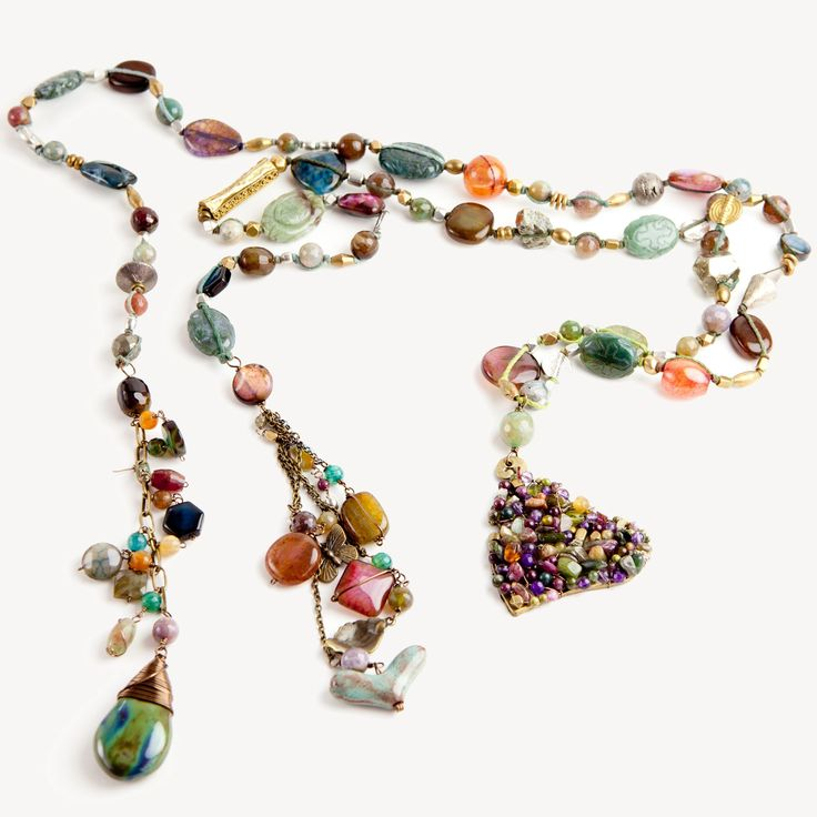 17 best images about pampanale zielo on pinterest - Piedras para collares ...