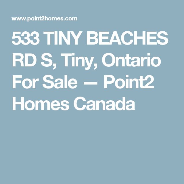 533 TINY BEACHES RD S, Tiny, Ontario For Sale — Point2 Homes Canada