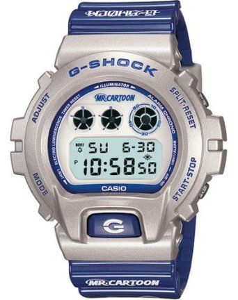 Casio G Shock Limited Edition Mister Cartoon Dw6900mrc-8 Rare G-shock Watch.
