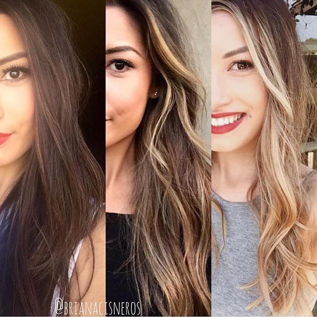 Brunettes Going Blonde 4