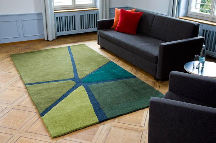 Top 10: Arik Levy's feeling for design | Crack Rug, Ruckstuhl, 2012 |