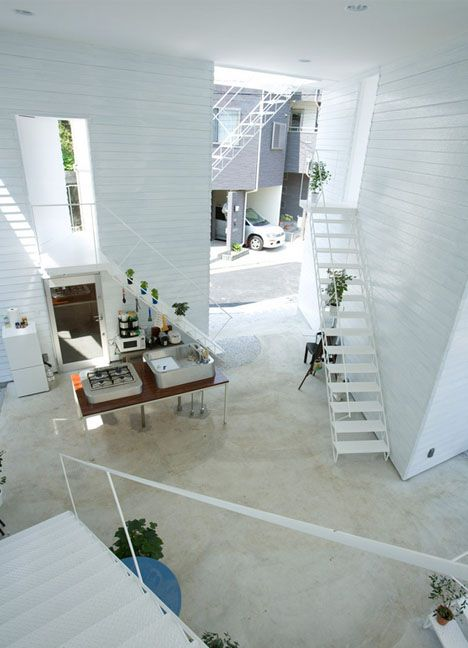 124 best japanese homes apartments images on pinterest for Apartment urban design