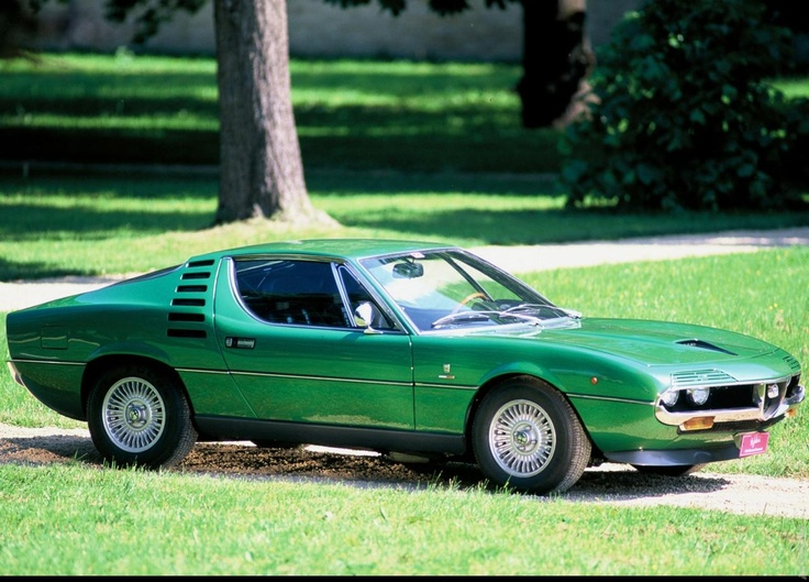 1970 Alfa Romeo Montreal - the only Alfa Romeo I do not like, and still don't.....glad we never had one...