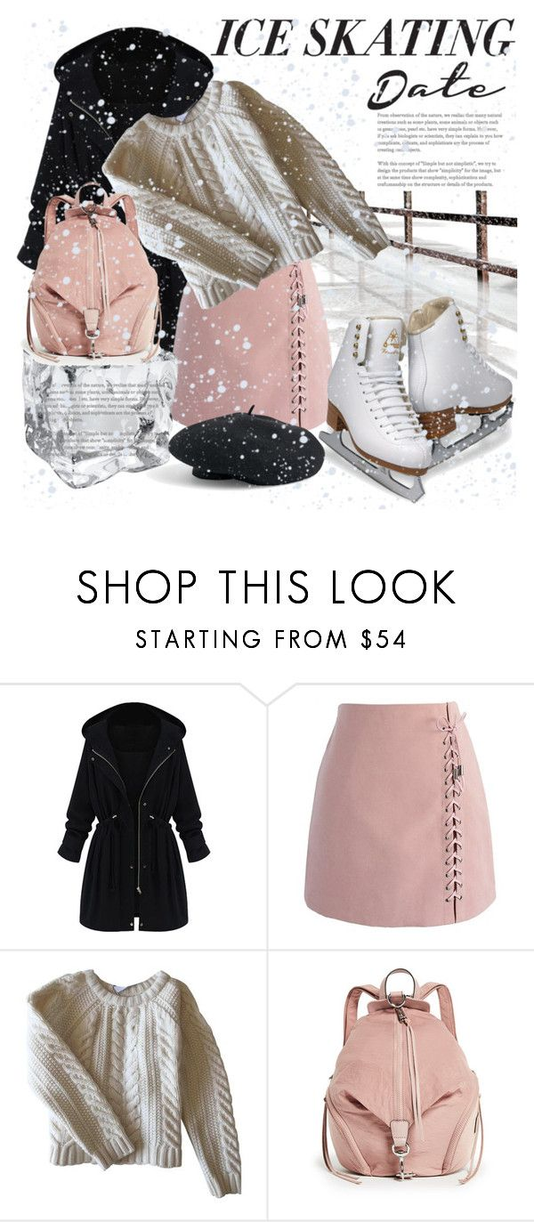 """""""Skate Date: Ice Skating Outfit"""" by naty-11-11 ❤ liked on Polyvore featuring WithChic, Chicwish, Anine Bing, Rebecca Minkoff, Venus and iceskatingoutfit"""