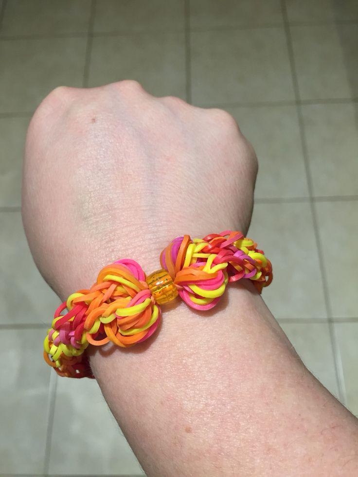 A Sunshine bright version of my Butterfly bow bracelet❤️