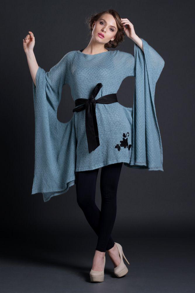 Bluza Paianjen, jerse bleu