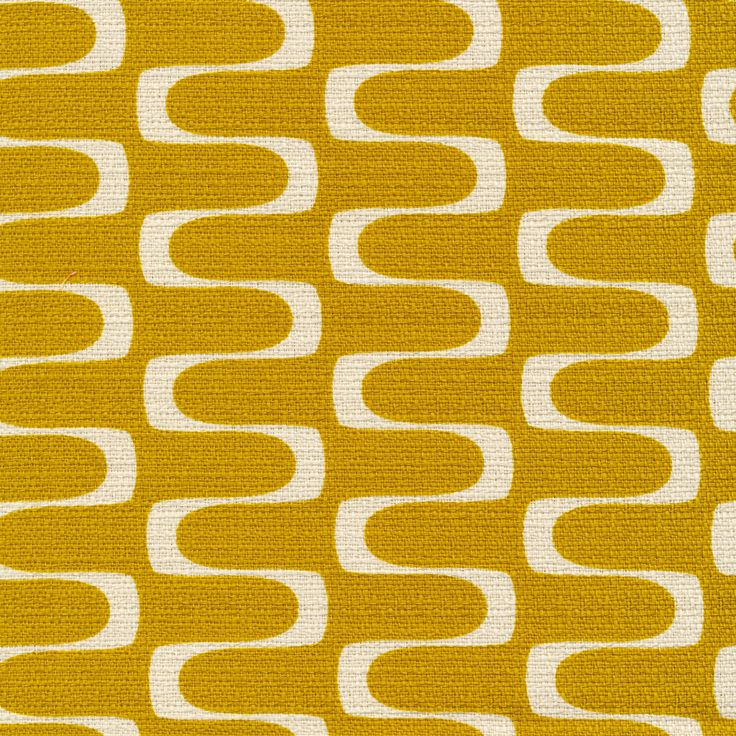 152418 Wavelength | Gold Quilter's Cotton from In Theory by Jessica Jones for Cloud9 Fabrics