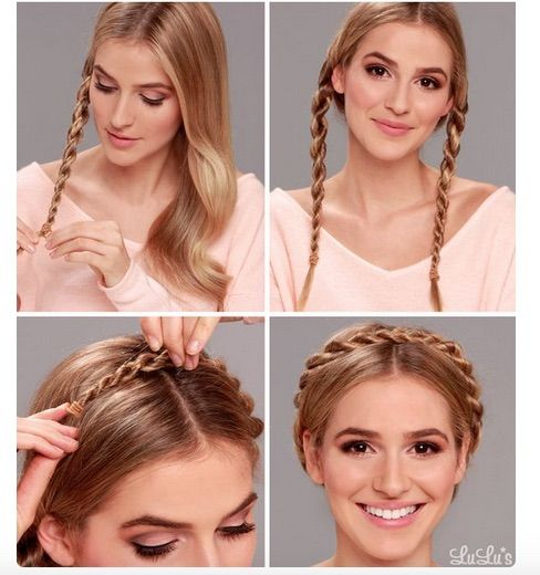 Oktoberfest braids –perfect hairstyle for the holiday MomTrendsMomTrends