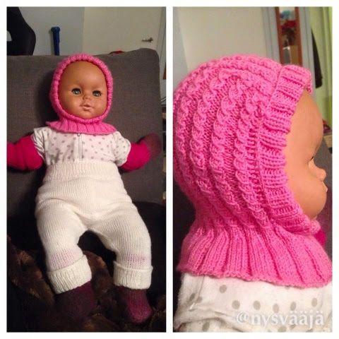 Tuli innostuttua pienistä vaatteista, kun piti vain jotain tehdä kaverin tulevalle vauvalle. On näitä pieniä vaan niin mukava tehdä kun saa ...