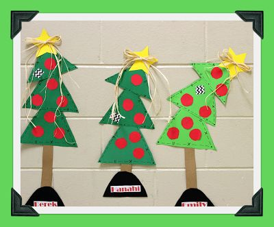 Glyph Girls Christmas Tree Glyph! Data Collection and Graphing ...