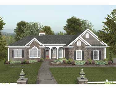 Home Plans Homepw03107 2 000 Square Feet 4 Bedroom 2