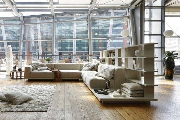 Modulare Sofasysteme mit Regalsystemen  http://wohnideen.minimalisti.com/wohnzimmer/sofa-designs-mit-integrierten-regalen.html