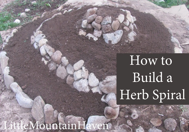 Little Mountain Haven: how to build a herb spiral