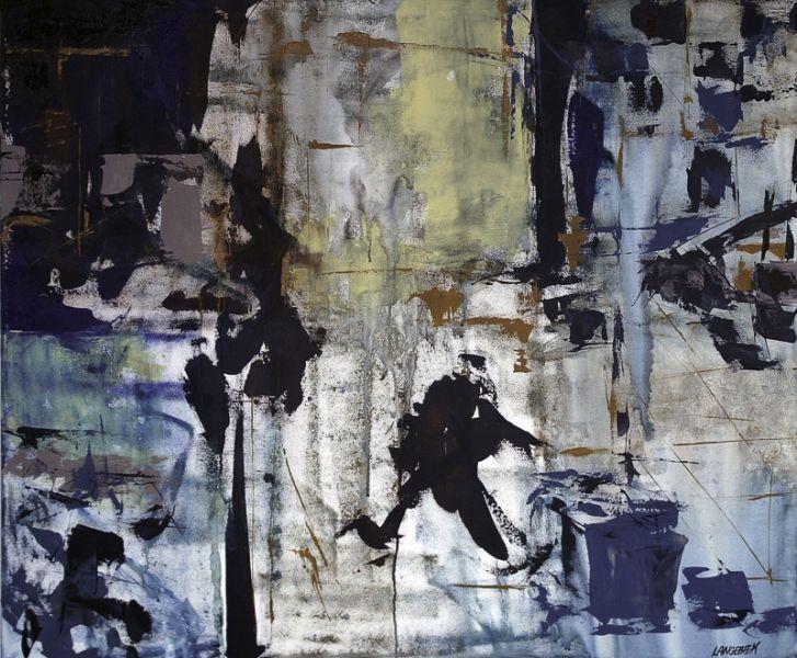 """""""Regnvejrsmorgen"""" -  Et maleri af Hanne Langebæk, jeg nyder hver eneste dag i min stue, og har snart gjort det i nogle år - Kan bare ikke blive træt af dette billede :-)"""
