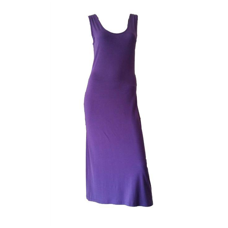 Eco Diva Purple Dress