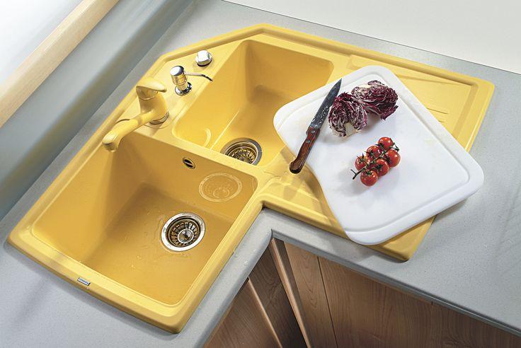 Pi di 25 fantastiche idee su lavelli da cucina ad angolo - Lavelli cucina ad angolo ...