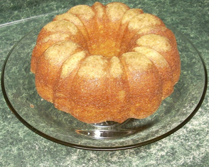 Tortuga Rum Cake - For those days when my private yacht is in the shop and I want a taste of the bahamas