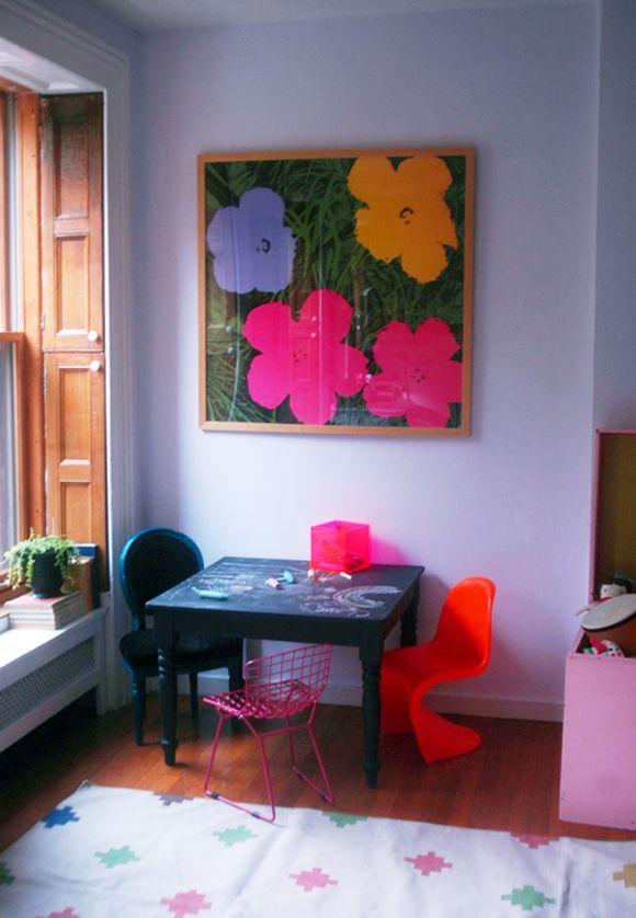 Little Green Notebook: Art for the Girls' Room