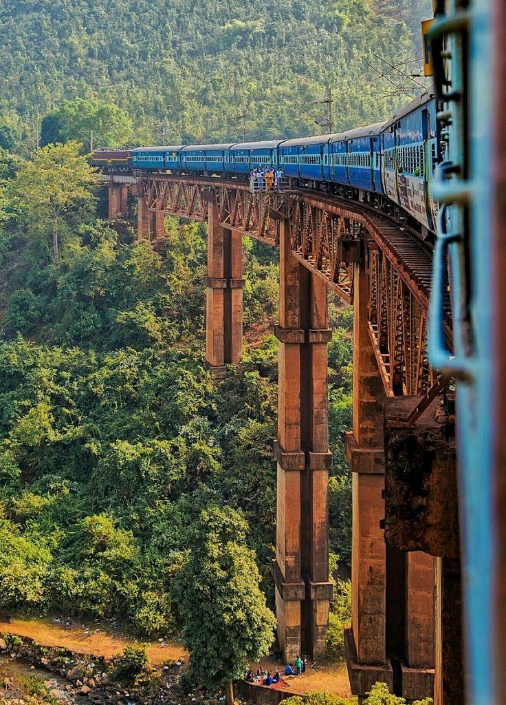 The turning #train.... Taken enroute Jagdalpur to Visakhapatnam....