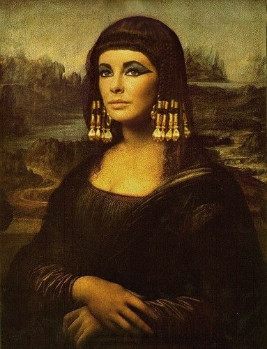Liz Taylor Cleopatra Mona