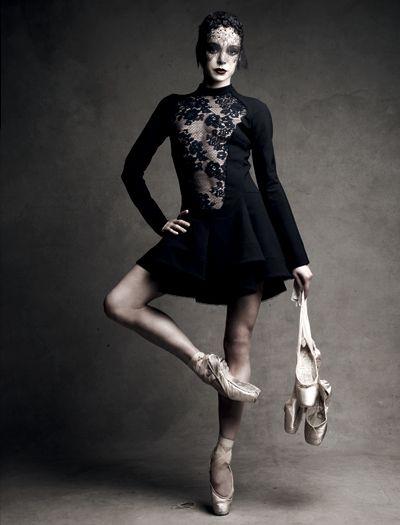 Diana Vishneva by Patrick Demarchelier.
