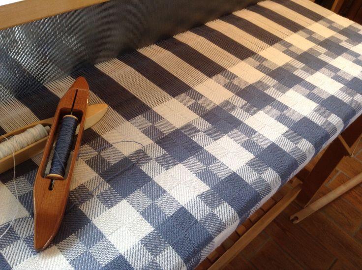 Eight Shaft Block Twill Baby Blanket Using Alpaca And Silk