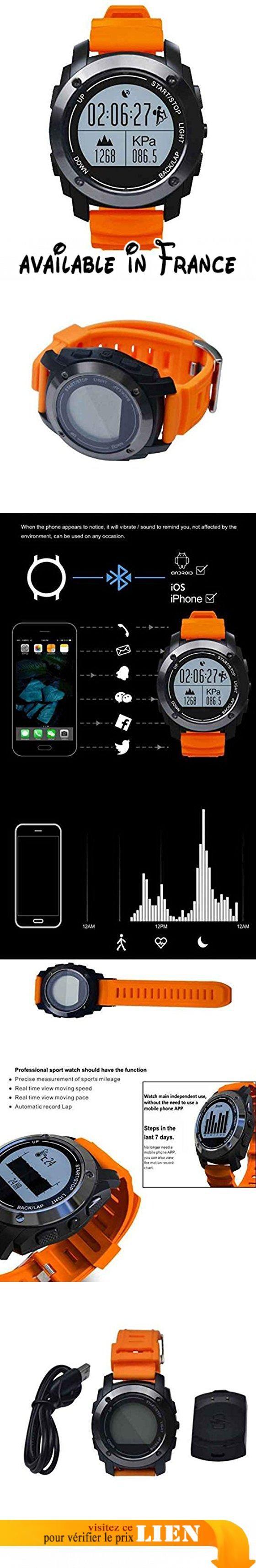 Métallique Montre Intelligente,Smart watch Contrôle