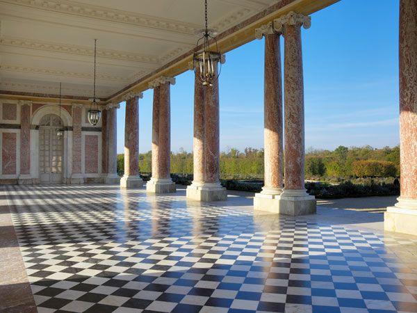 Le Grand Trianon - Le péristyle