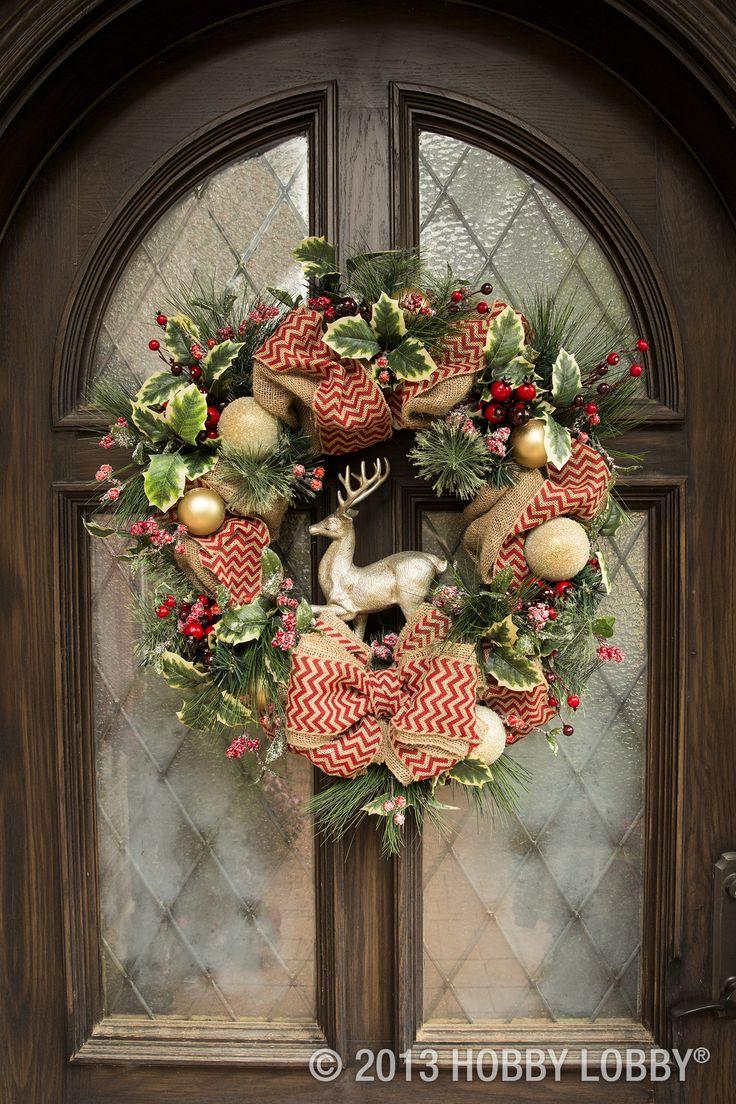 reindeer christmas xmas wreat