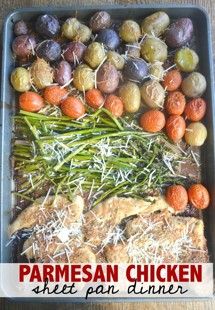 I have been meaning to post a sheet pan meal forever. Actually, ever since they started popping up on Facebook about a year ago. You know what though? I was pregnant all last year, and never got myself together to do one. Which is funny, because I actually make dinners like this often. In lieu of finally completing a sheet pan dinner recipe! I also made a fun video to share with you too! I sped the process up a little bit in the video. This was a totally easy recipe, but it did ta...