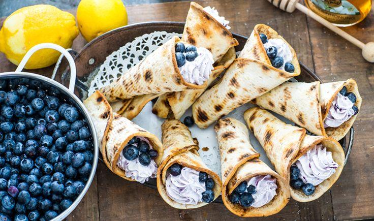 Njallastrutar med blåbär & citron | Polarbröd