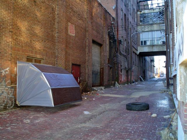 Collapsible Urban Shelters