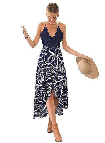 702a8de1bb4d Blooming-Jelly-Womens-Deep-V-Neck-Sleeveless-Summer-Asymmetrical-Floral-Maxi -Dress