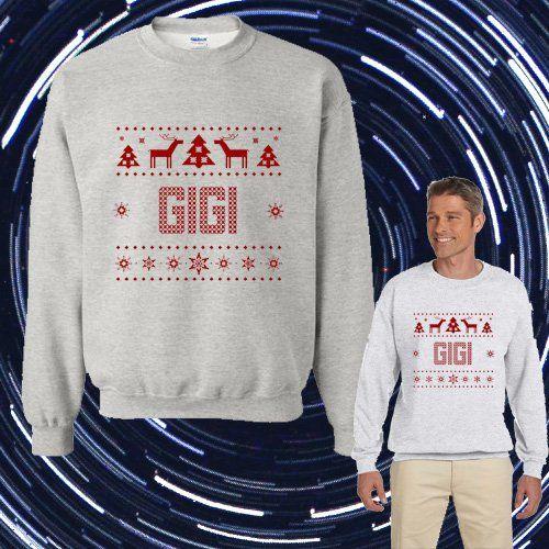 1-800 HOTLINE BLING Ugly GIGI Christmas Unisex Adult sweater Crewneck Sweatshirt